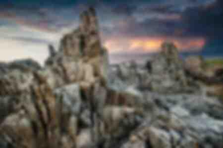 Rocce sull'isola di Ouessant