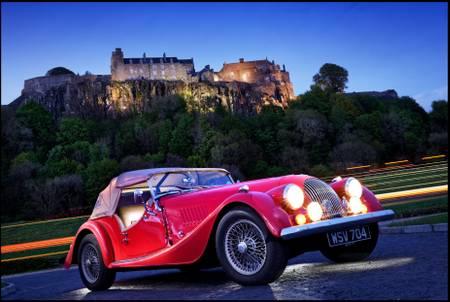 Arrival in Stirling in Morgan