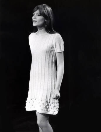 Françoise Hardy on stage