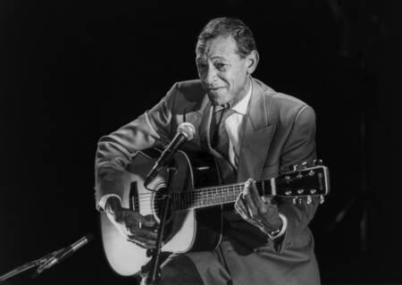 Henri Salvador in concert in 1989