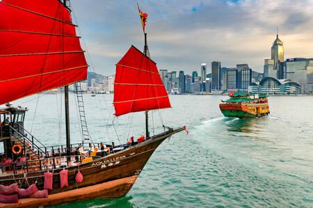 Hong Kong on the water