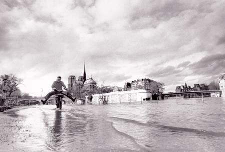 The Seine in flood