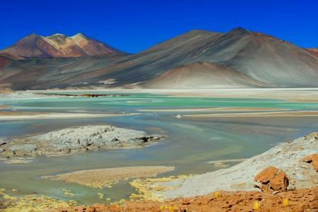 Le désert de sel d'Uyuni