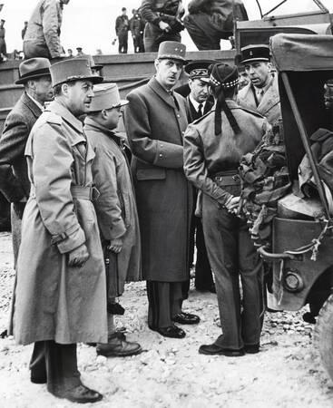 Le Général de Gaulle en juin 1940