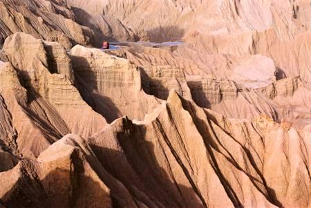Les spectaculaires montagnes d'Hala