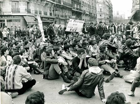 Mai 1968 - Le pouvoir est dans la rue