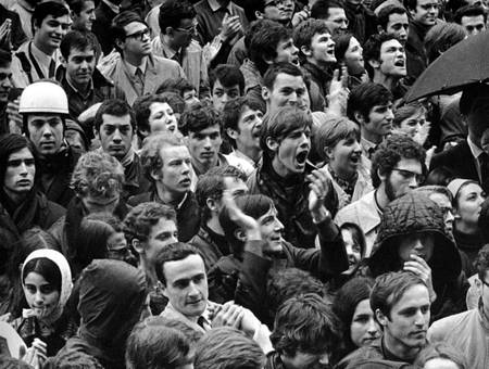 Manifestation d'étudiants - Mai 1968