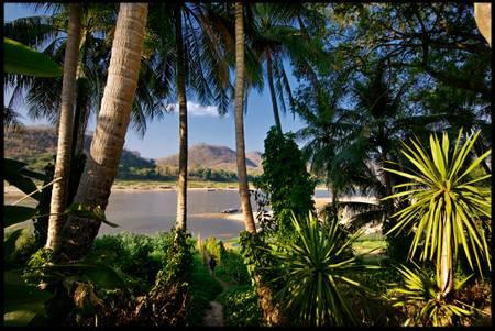 Landschaft von Laos