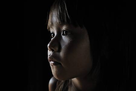 Portrait d'une jeune Kayapo 2