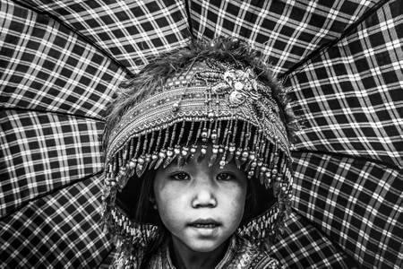 Jeune fille Hmong