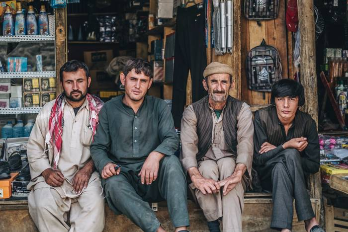 Men Of The Bazaar