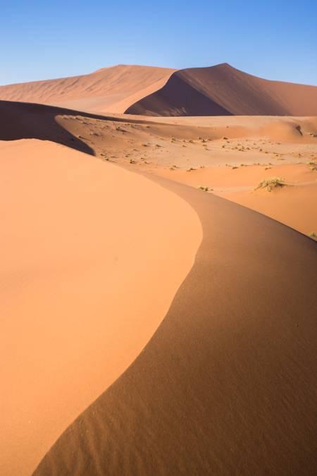 Paysage de Dunes dans le désert du Namib