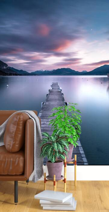 En los pontones de Annecy