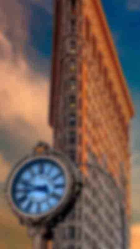 FLATIRON BUILDING CLOCK