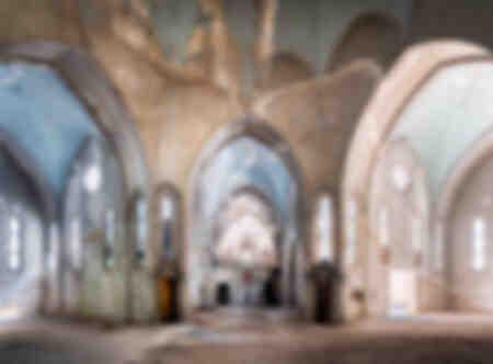 Chiesa abbandonata in rovina