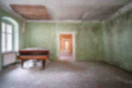 Abandoned Piano in the Corner