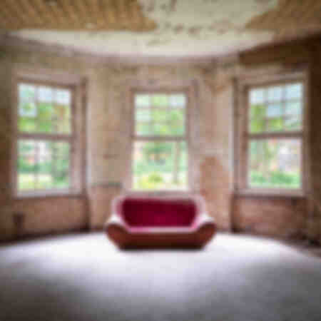 Abandoned Sofa in Small Room