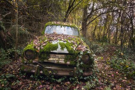 Abandoned Simca