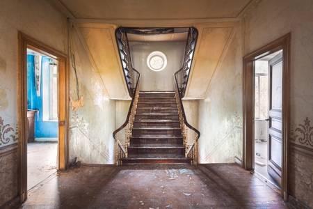 Staircase in Villa