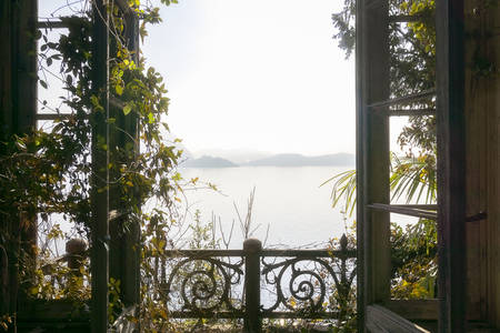 Window with Lake View