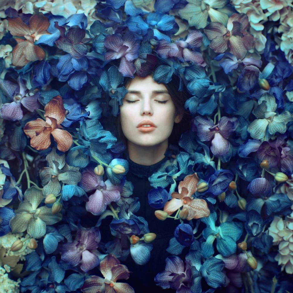 Portrait In Flowers 002