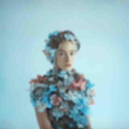 portret in bloemen 007