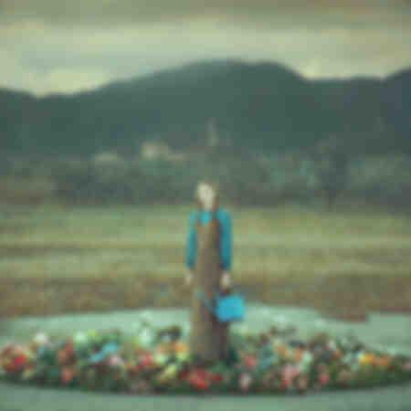 portret in bloemen 008