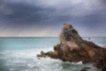 The Biarritz rock