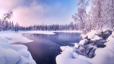 Lapland sunrise