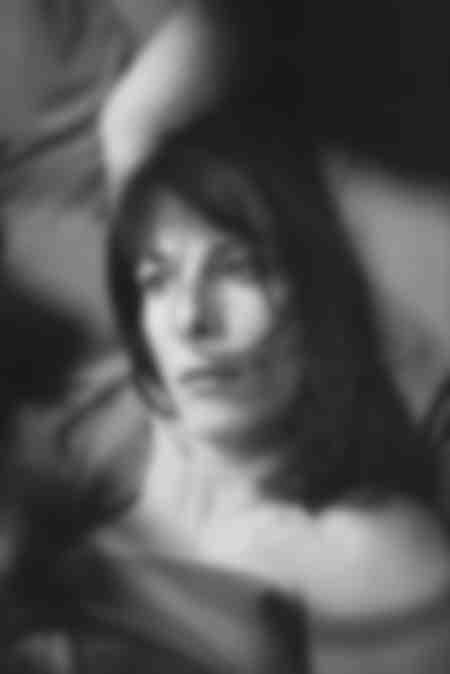 Karine Viard during a shoot in Paris in 2007