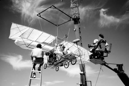 Ambiance de tournage sur Arizona Dream