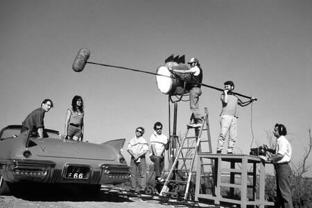 Atmósfera de la filmación de la Chica de las Colinas 1988