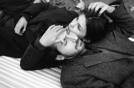 Audrey Tautou and Edouard Baer