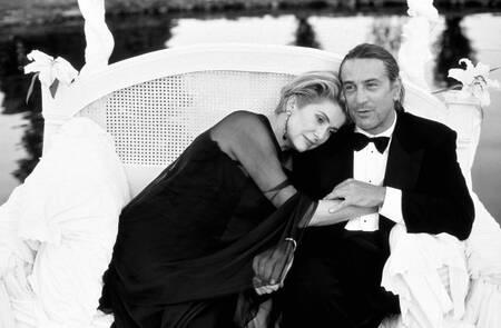 Catherine Deneuve y Robert de Niro en 1994