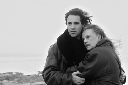 Jeanne Moreau et Pierre-Loup Rajot