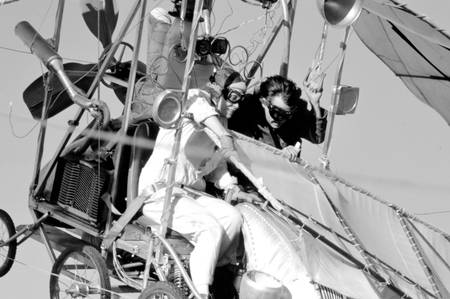 Johnny Depp and Faye Dunaway
