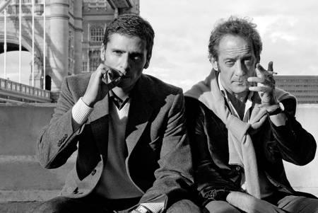 Pascal Elbé et Vincent Lindon Londres 2007