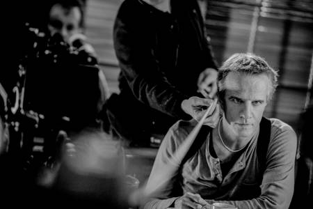 Christophe Lambert 2009 tournage