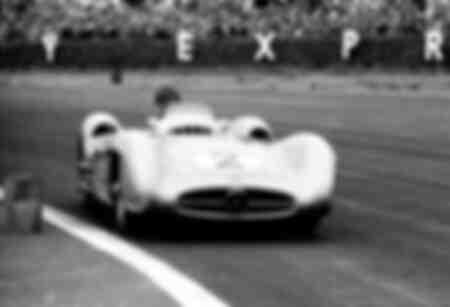 Grand Prix de Grande-Bretagne en 1954 à Silverstone