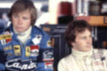 Gilles Villeneuve y Didier Pironi en Ferrari