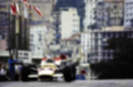 The Monaco GP at Monte Carlo 1969