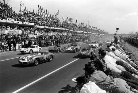 Buck Fulp - Le Mans 1962