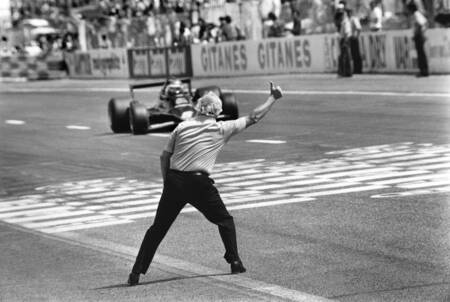 Colin Chapman et Ronnie Peterson - Grand prix de France 1978