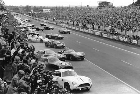 Departure at Le Mans in 1961