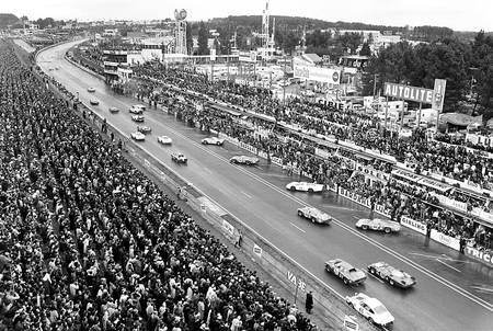 Départ des 24h du Mans en 1968