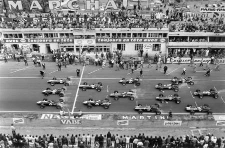 Start of the Grand Prix de France - Le Mans 1967