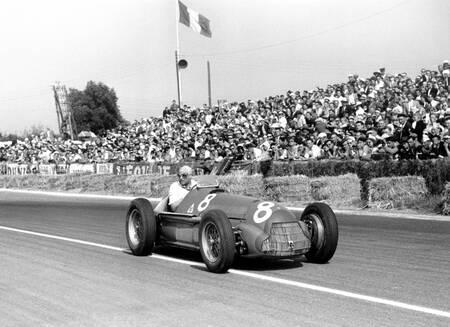 Fangio victorieux - Grand prix de France 1951