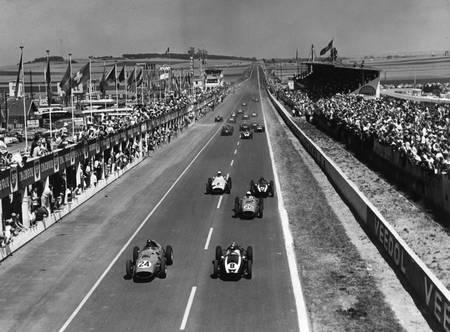 Grand prix de France à Reims en 1959