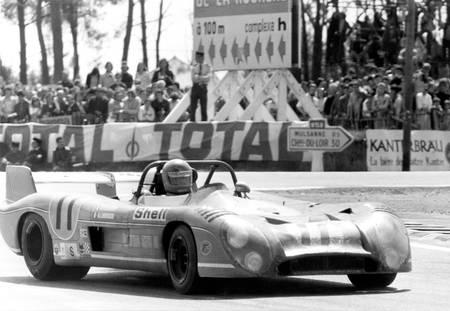 Henri Pescarolo au Mans en 1973