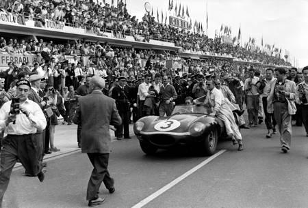 Ivor Bueb au Mans en 1957